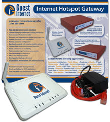 Guest Internet • GIS-K1 WiFi hotspot gateway
